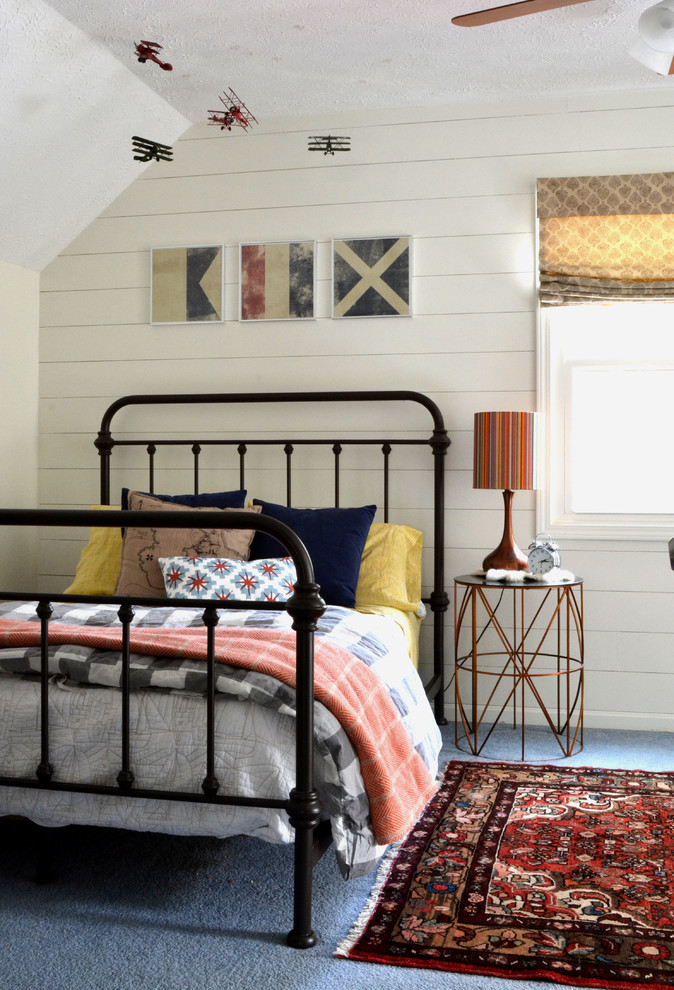 Inspiration for an eclectic kids' room remodel in Houston