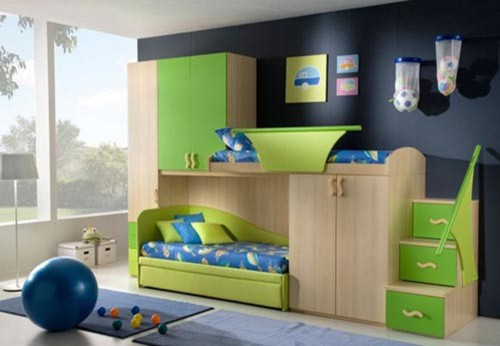 Space-saving designs for small rooms - Contemporary - Kids
