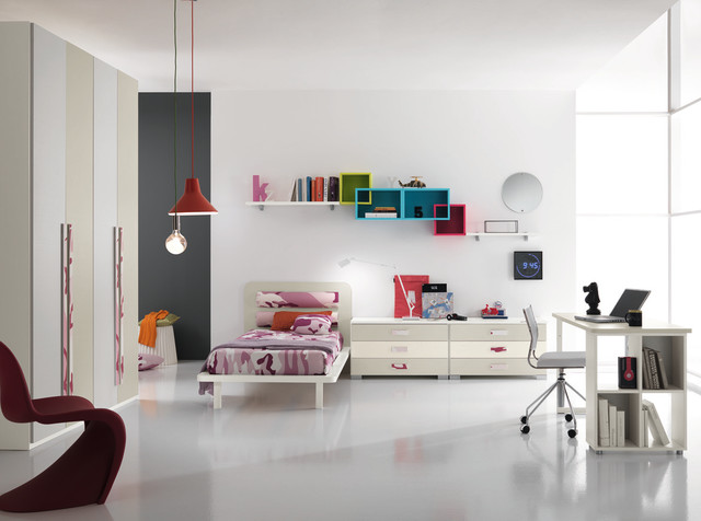 Spar Modern Kids Bedroom Set One 401 Made In Italy Modern Kids