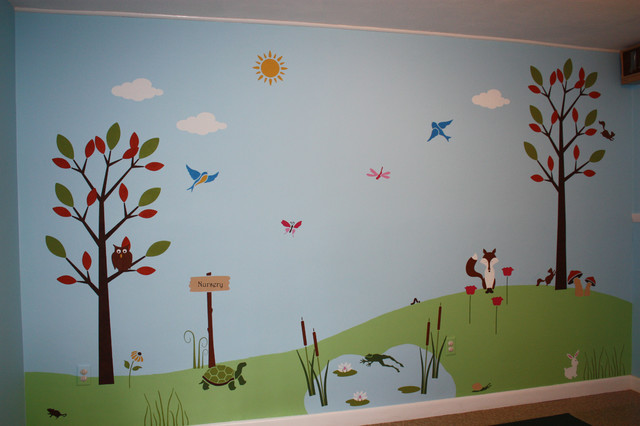 Specialty Cartoon Mural Traditional Kids Ottawa By