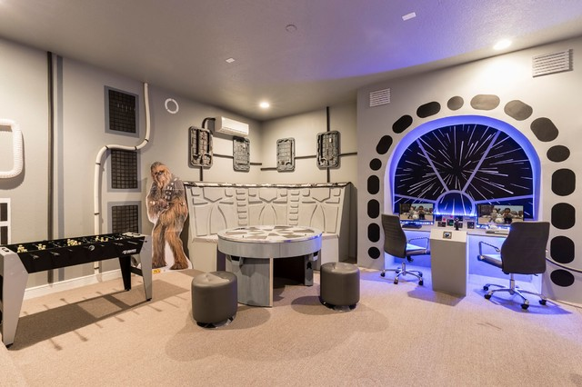 Star Wars Game Room Contemporary Kids Orlando By Florida Furniture Packages