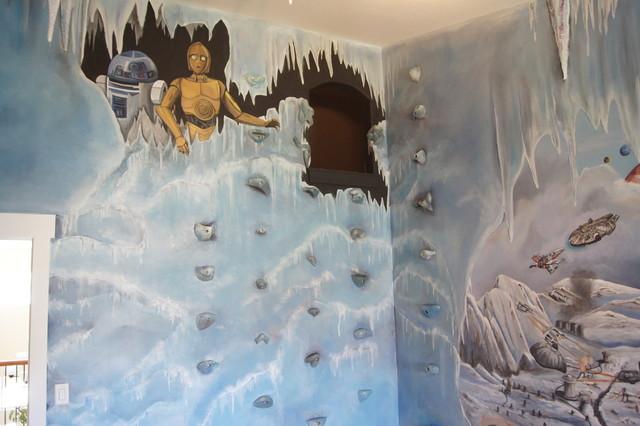Climbing Wall Design Company : Star wars rock climbing wall traditional kids salt