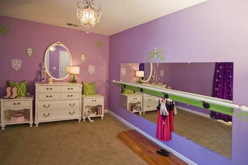 The Best Home Dance Studio And Work Out Space Ideas For Bedrooms