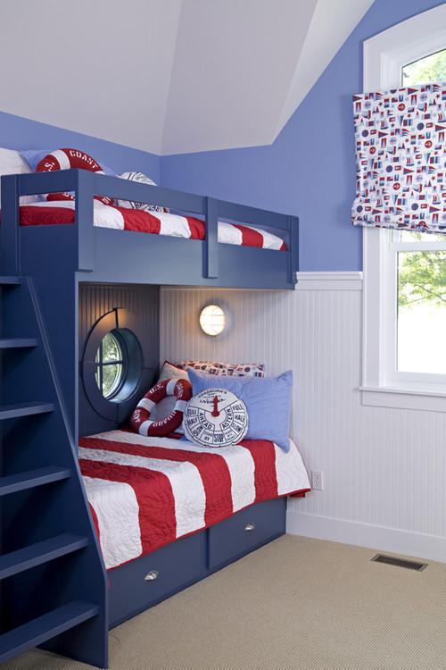 ideas habitaciones infantiles con literas