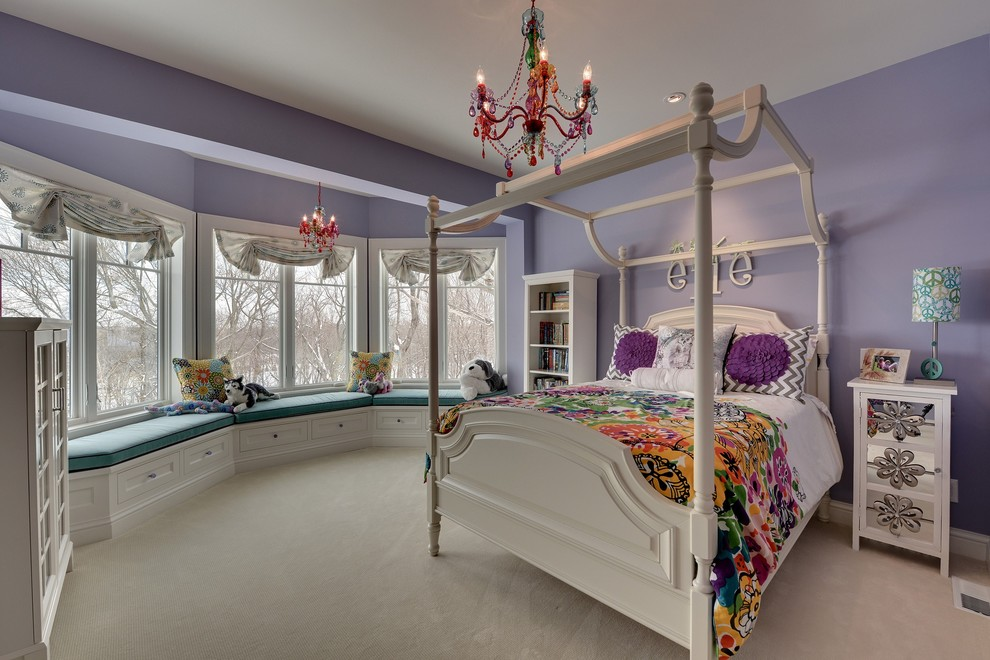 Inspiration for a timeless girl teen room remodel in Minneapolis