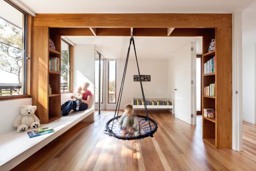 9 Ideen für Schaukeln im Kinderzimmer – einmal anschubsen bitte!