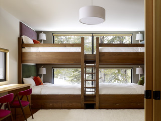 Classic 4 bed bunk room.