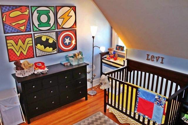 Super Hero Nursery contemporary kids. Super Hero Nursery   Contemporary   Kids   New York