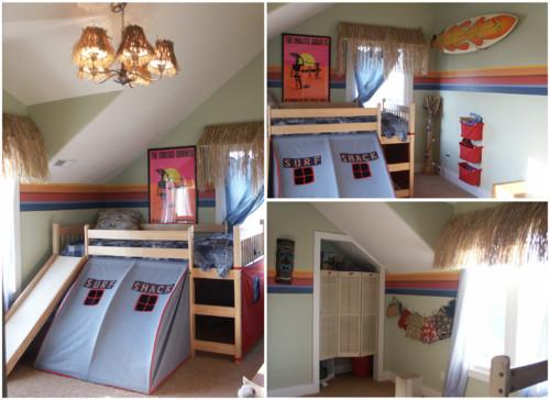 Идеи оформления детских комнат для мальчиков