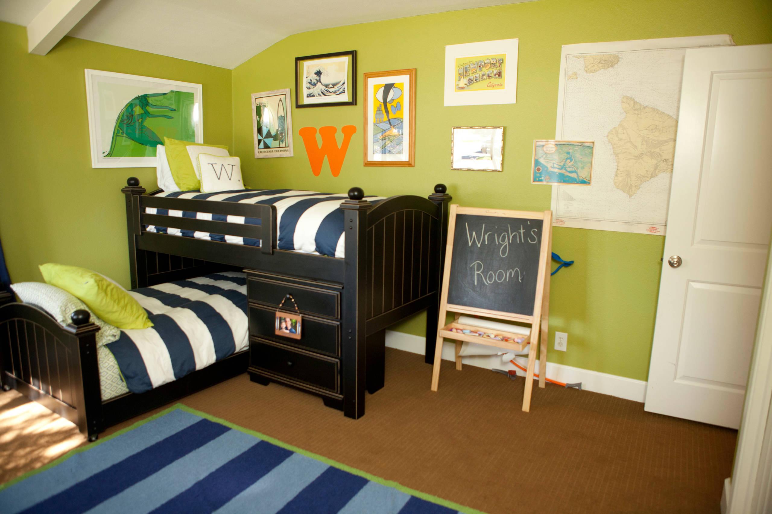 Boy Room Bunk Bed Houzz