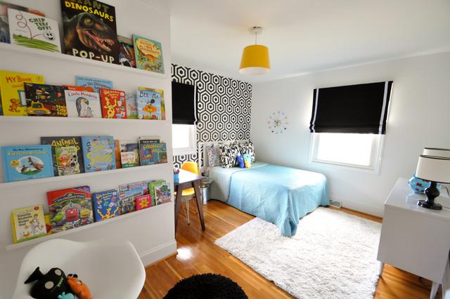 Sutton & Schafer's Bedroom - Retro - Barnrum - Charlotte - av ...