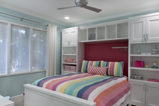 teen bedroom/bath remodel traditional-kids