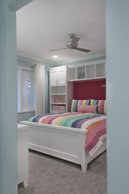 teen bedroom/bath remodel contemporary-kids