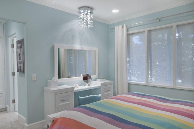 Teen Bedroom Bath Remodel