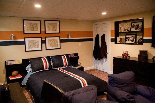 Teen boy 39 s bedroom - Boys basement bedroom ...