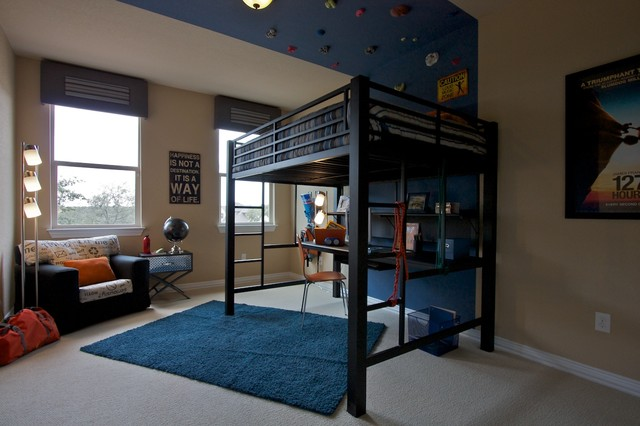 Teen Boys Room Eclectic Kids Other Metro By