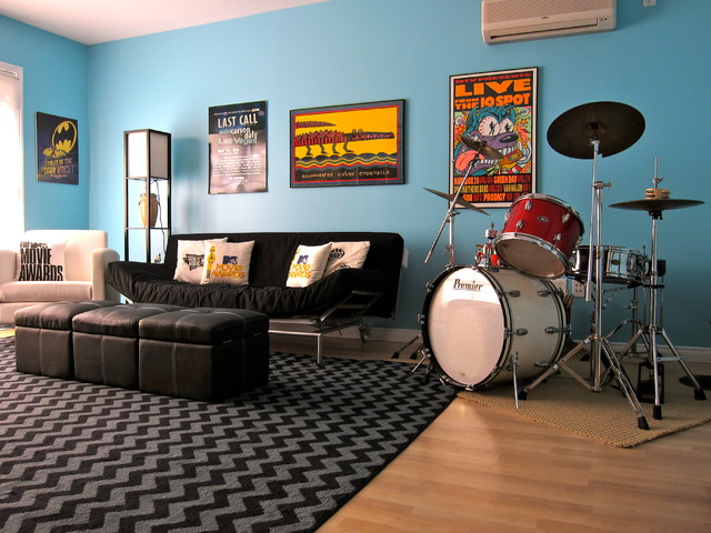 Teen Game Room Contemporary Kids Los Angeles By