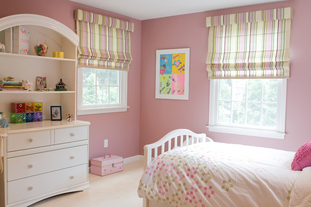 Teen Girl's Bedroom contemporary-kids