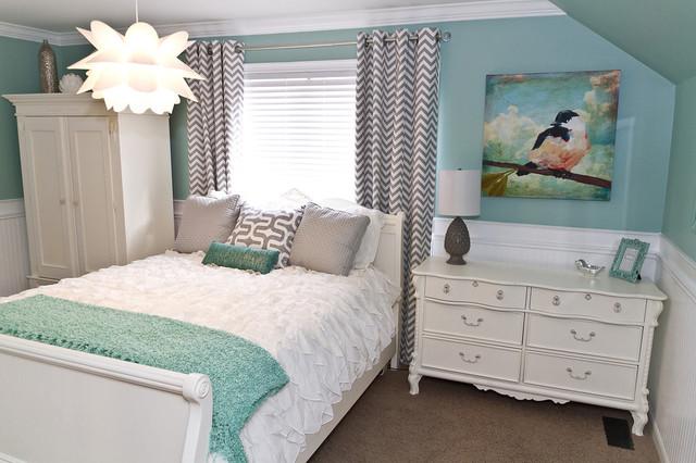 amazing gray green teen bedrooms | Teen Room Makeover - Contemporary - Kids - cincinnati - by ...