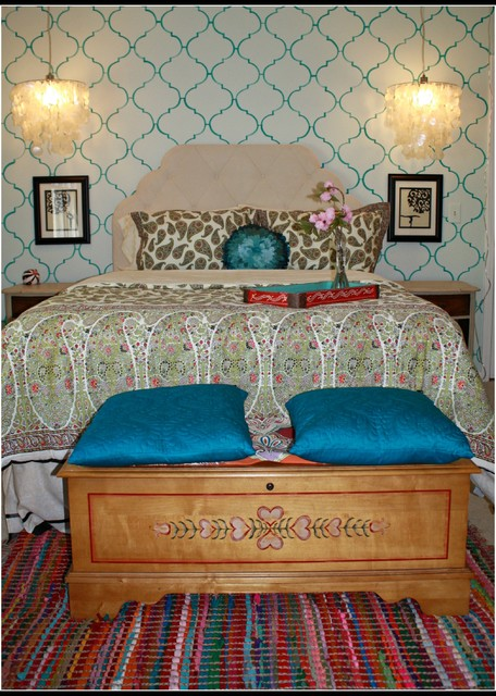 Teenage Girl\'s Bohemian Bed Room - Eclectic - Kids - Other ...
