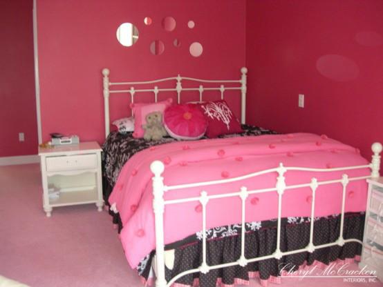 Teenage girls bedroom traditional-kids