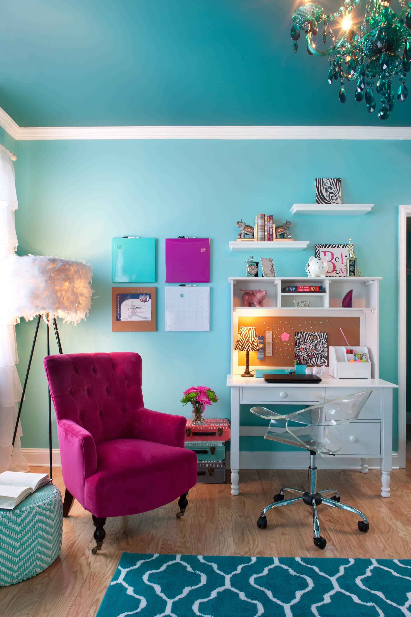 75 Beautiful Kids Room Pictures Ideas Color Turquoise February 2021 Houzz