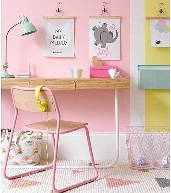 Teepee Geo Rug : Pink