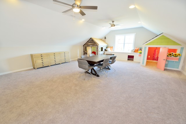 The Bella Homeplan Transitional Kids Raleigh By