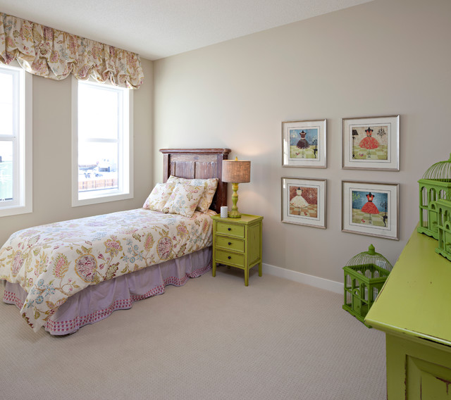 The Hawthorne - Girls Bedroom traditional-kids
