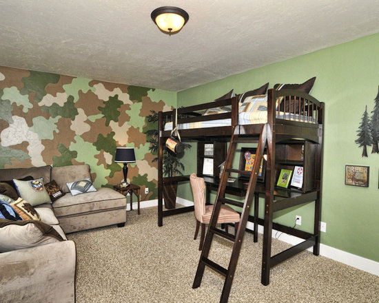 Camo Paint Design Ideas, Pictures, Remodel, and Decor
