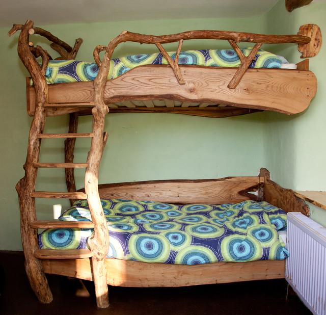Двухъярусные детские кровати своими руками из дерева