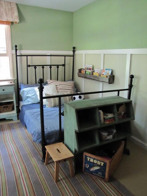 The Painted Home ~ Boy's Room eclectique-chambre-d-enfant