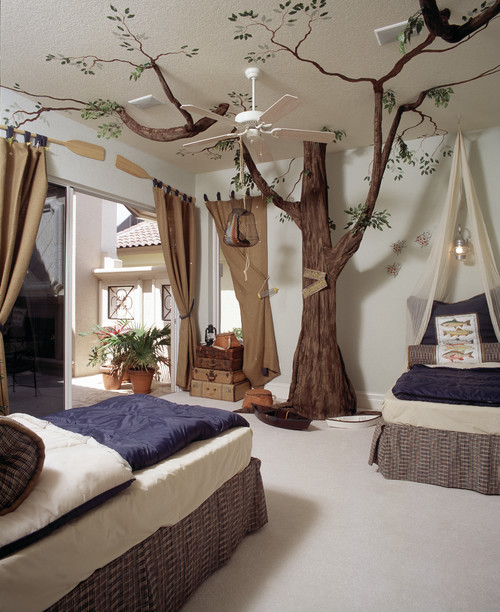 mediterranean kids A Tree Grows in Bedrooms