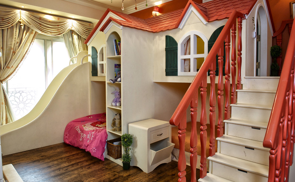 Playroom - eclectic playroom idea in Other