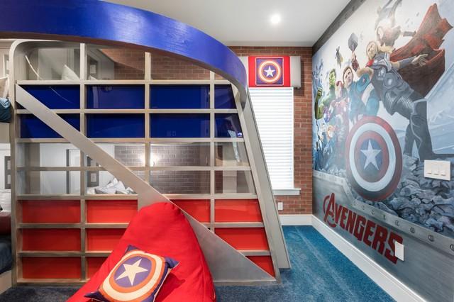 Trendy kids' room photo in Orlando