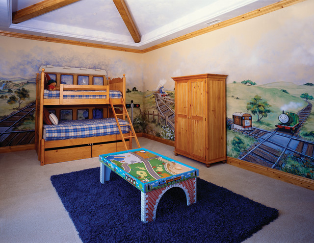 Thomas The Tank Room for Ventura County New West Symphony Design House traditional-kids
