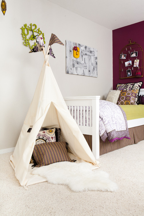kids 39 teepees indoor teepee ideas ginger may. Black Bedroom Furniture Sets. Home Design Ideas