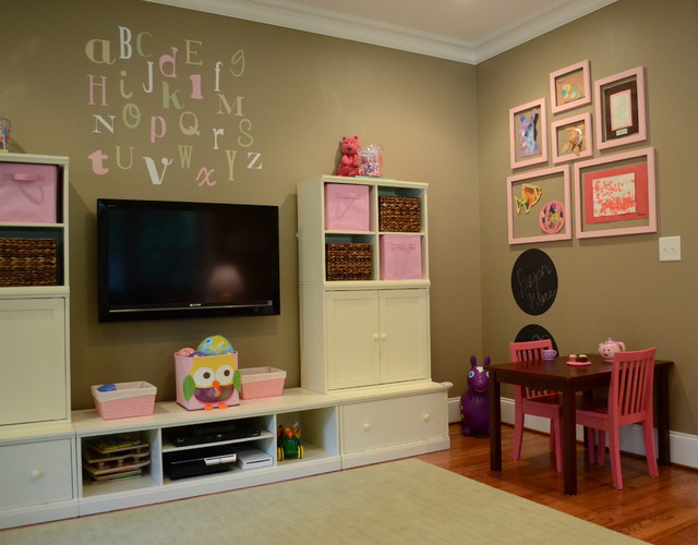 Toddler Playroom traditional-kids