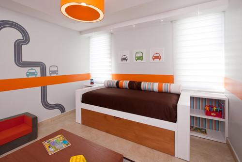 truck toddler room