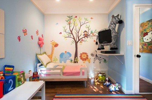 Contemporary Kids by Santa Monica Interior Designers & Decorators Fundi Interiors