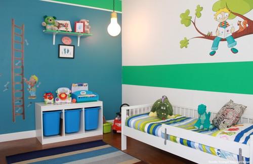 El primer dormitorio de un niño