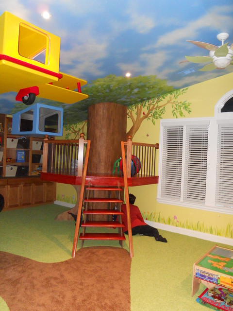Toy room project traditional kids other metro by for Kids toy rooms