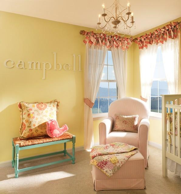 Traditional Children's Room Interior Design traditional-kids