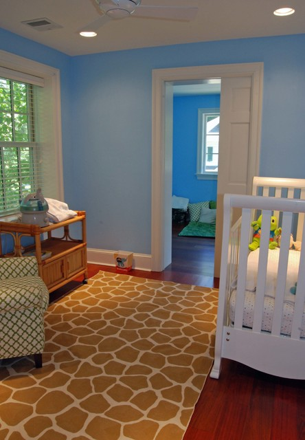 Inspiration for a timeless kids' room remodel in Philadelphia