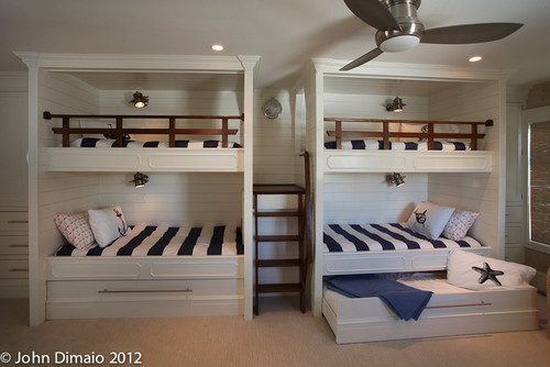 Donna's Blog: Bunking down with Custom Bunk Beds | Asher Architects  photographer John Dimaio