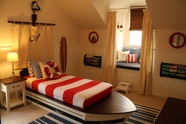 Toddler Boy S Nautical Bedroom Traditional Kids