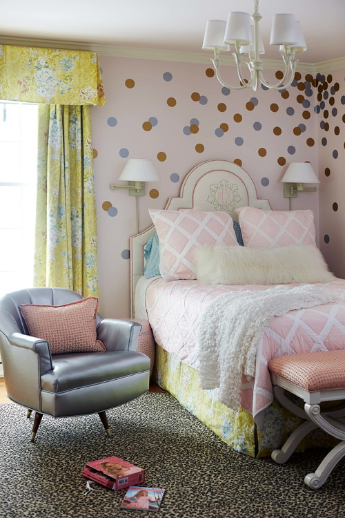 amazing teenage bedroom ideas dots