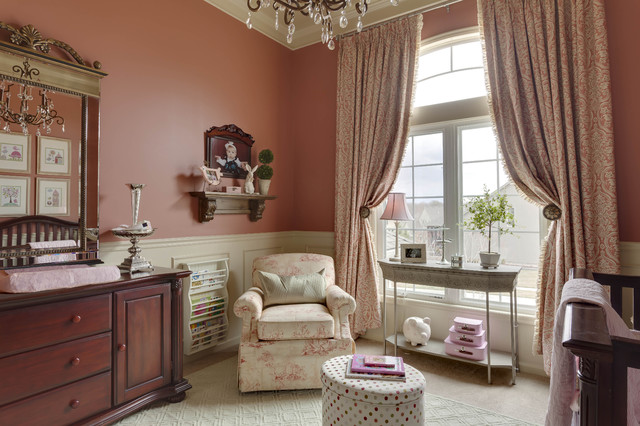 Example of a classic kids' room design in Kansas City