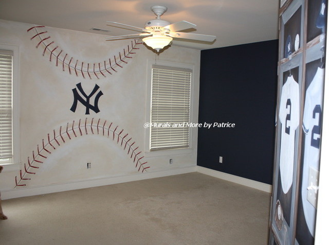 ny yankees big boy room traditional kids other metro by murals