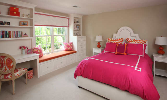 Pre Teen Bedroom Makeover Traditional Kids Boston
